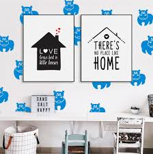 hippo wall decals hippo pattern vinyl decal nursery wall decals dorm inspiration of batman wall stickers