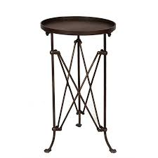 metal accent table. Metal Accordian Side Table Accent