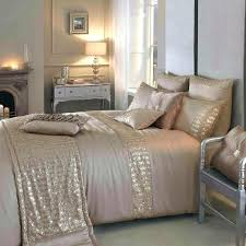 metallic gold comforter rose and white metallic gold