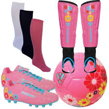 Vizari Size Chart Vizari Pink Blossom Complete Youth Soccer Package Model