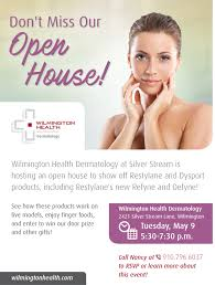 wilmington health dermatology open house