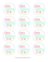 Summer Gift Tags Printable Gift Tags Summer Download Them Or Print