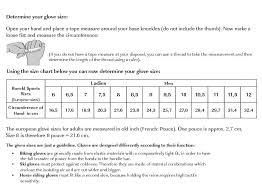 Roeckl Sizing Chart