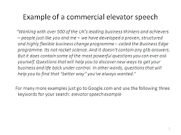Elevator Pitch Examples Below Speech Template For Students Pharmacy ...