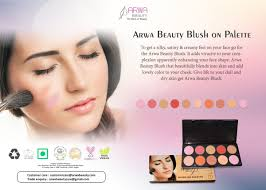 it sits on your skin fortably for more dels visit arwabeauty blushon palette