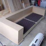 Diy mdf furniture Upcycle The Ability For It To Breakdown In Pieces Makes It Little Easier To Move Its Still Bit Heavy The Design Could Use Some Tweaking To Make It Little Pinterest One Serious Diy Hardwood And Mdf Sofa Project Apartment Therapy