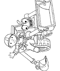 Small Picture Bob The Builder Coloring Pages Coloring Home