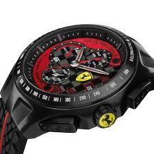 new scuderia ferrari watch men s chronograph black red race day new scuderia ferrari watch men s chronograph black red race day 830077 44mm