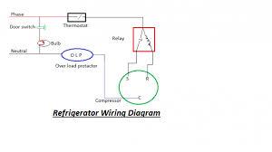 wiring diagram of refrigerator travelwork info Kic Fridge Thermostat Wiring Diagram gallery of wiring diagram of refrigerator Honeywell Thermostat Wiring Diagram