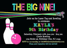 Free Laser Tag Invitation Template Laser Tag Invitations Laser Tag Bowling Birthday Invitation Bowling