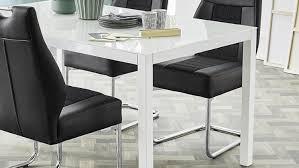 Esstisch Timbas Esszimmertisch Tisch In Weiß Mit Glas 150x90 Cm