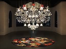 the mega chandelier is a custom made lighting composition made of a unique selection of lamps from the moooi collection an explosion of beauty and