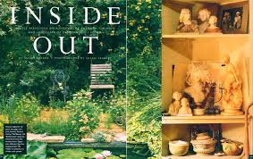 garden design magazine. Small Garden Design Magazine Feature Story About The Gardens And Collections Of Designer