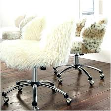 fur desk chair white fuzzy desk chair white fuzzy desk chair a warm ivory desk chair