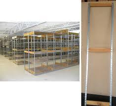 used stockroom shelving uprights usrsur