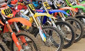 the right dirt bike