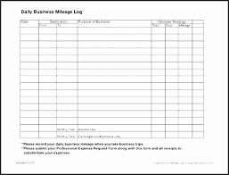 Daily Mileage Log Template Shqsp Luxury Ifta Trip Sheet Template