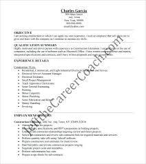 construction estimator resume construction estimator resume free  construction management estimator resume
