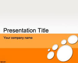 Microsoft Office PowerPoint Template