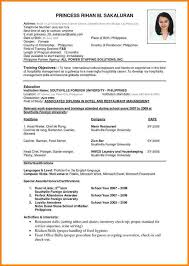 7 Professional Resume Format Ledger Review