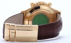 rolex daytona leather band