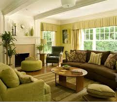 green brown living rooms | there are many ways of using color in interior  decor for