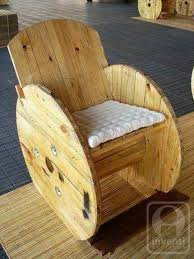 cable spool chair spools