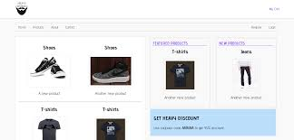 Online Clothings Store Project Using Java Script With Source Code