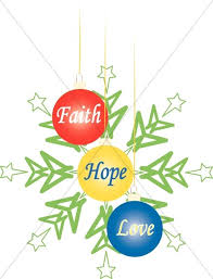 Image result for faith hope love clipart
