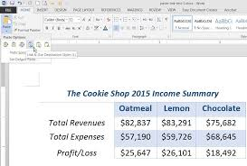 Excel Word Link Data In Excel Word And Powerpoint With Paste Link