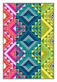 521 best Colorful quilts images on Pinterest   Colorful quilts ... & True Colors quilt designed by Carl Hentsch. Fabric from Heather Bailey's  True Colors fabric collection Adamdwight.com