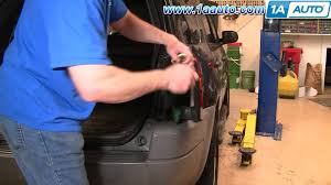 how to install replace taillight and bulb ford escape 01 07 1aauto 2014 ford escape trailer hitch wiring harness at Ford Escape Tail Light Wiring Diagram