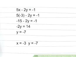 2 variable equation solver math image titled solve linear equations in algebra step 9 math calculator