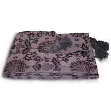 damask chenille throw over paoletti modern bed blanket from luxurious chenille throws for sofas