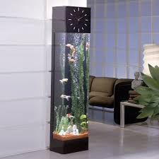 furniture fish tanks. View In Gallery Longcase Clock Featuring Vertical Aquarium Furniture Fish Tanks E