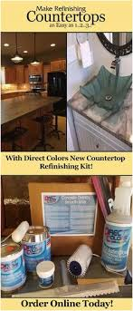 diy kitchen and bathroom countertop refinishing kit directcolors