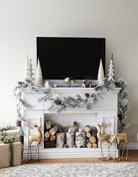 Diy Mantels For Fireplaces Ana White Faux Fireplace Mantle With Hidden Storage Cabinets