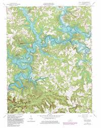 nolin lake topographic map ky  usgs topo quad c