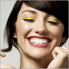 trendy yellow eye makeup ideas 8