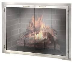 if you want a modern door or a durable outdoor fireplace door take a closer