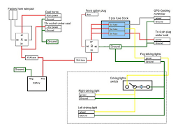 new horn honda ctx1300 forum update i updated the electrical diagram the relay a factory horn connections and new horn connection and 12v power socket connector and 15 amp fuse
