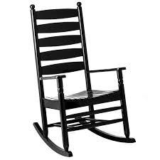 Ladderback Rocker Black Rocking Chairs