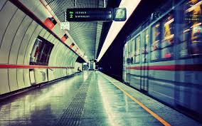 best 38 subway station background on