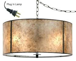 hanging chain lamps plug in rustic for home decorators collection 1 light aged bronze cage pendant