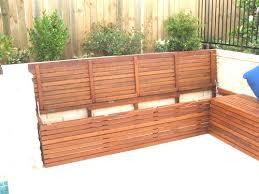 diy bench seat with storage beautiful diy outdoor storage box outdoor seating with storage