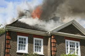 Image result for house on fire