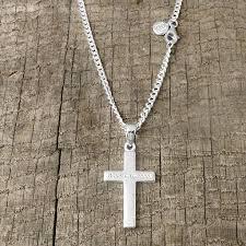 silver cross for men