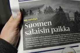 hs полиция провела обыск в доме написавшего статью о разведке  helsinginsanomien artikkeli