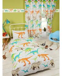 dinosaur world lined curtains bedroom