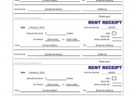 printable rent receipt template printable invoice receipt template free printable rent receipt able